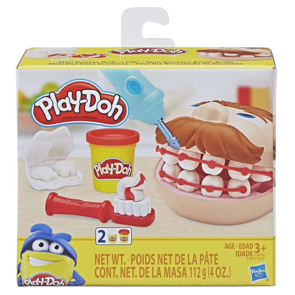 Play-Doh Mini Classicos - Brincando de Dentista - Hasbro