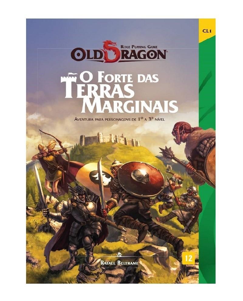 Old Dragon – O Forte das Terras Marginais - RPG - Redbox