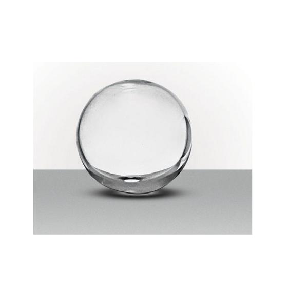 Vaso Esférico 12x12cm Transparente - Luvidarte