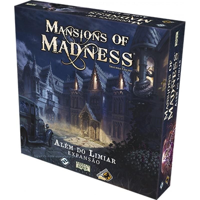 Além do Limiar - Expansão Mansions of Madness - Board Game - Galápagos