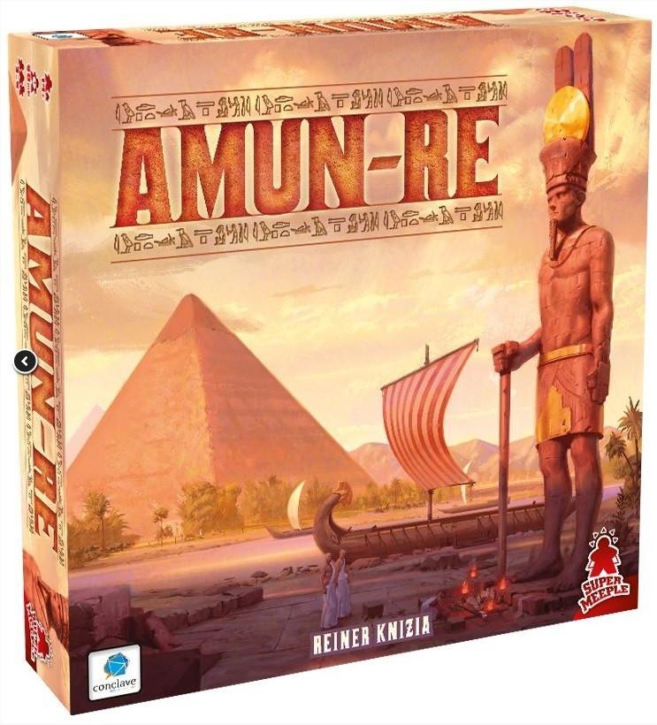 Amun-re - Jogo de tabuleiro - Conclave