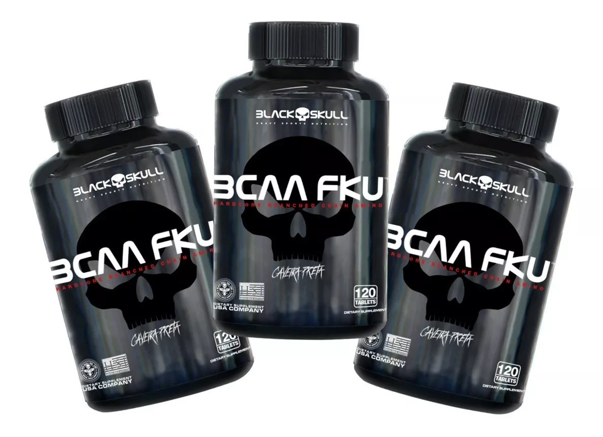 3x Bcaa Fku 120 Tablets - Total 360 Tabs Super Oferta