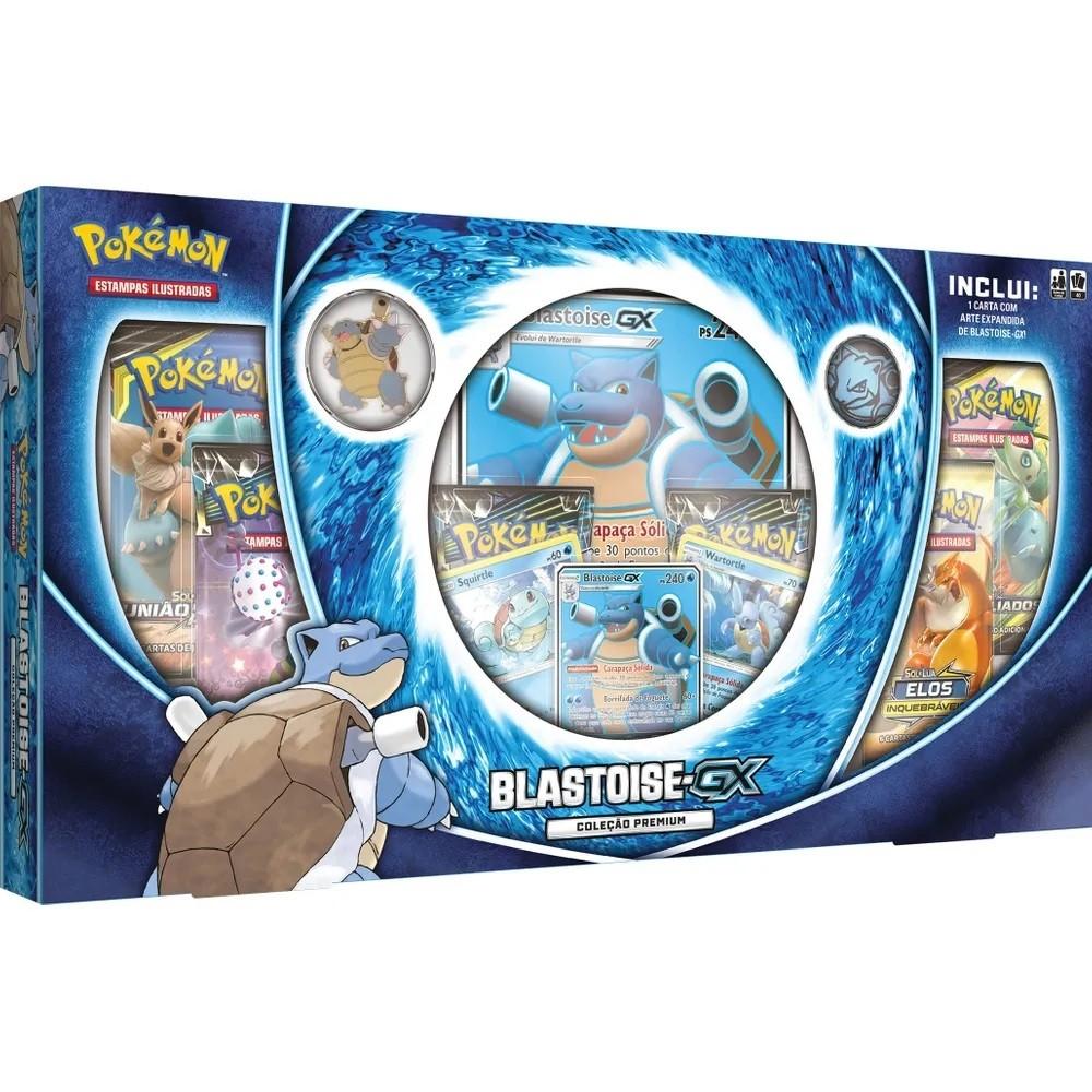 Pokémon Box Blastoise GX - Copag