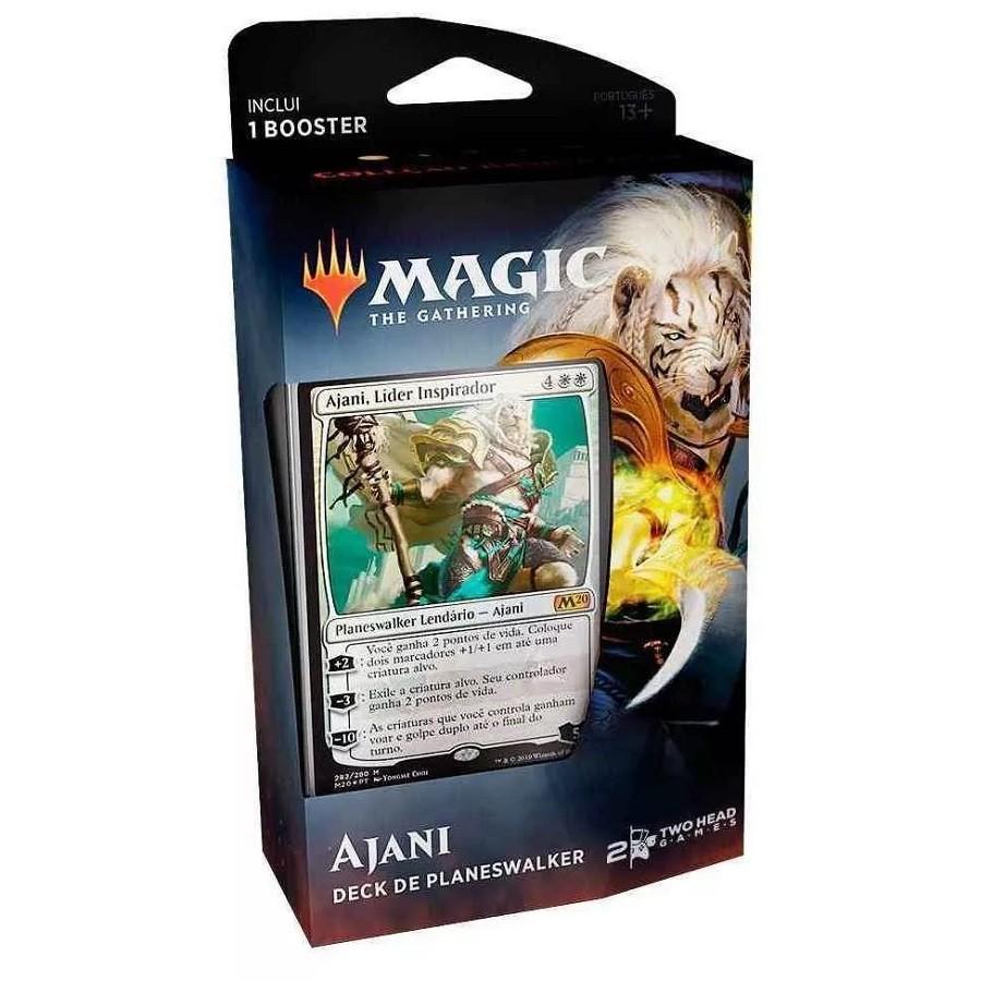 Magic The Gathering Deck Planeswalker Ajani Coleção Básica 2020 (PT) - Wizards