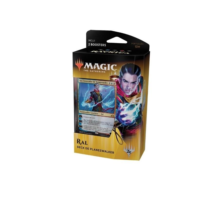 Magic MTG - Guildas de Ravnica - Deck de Planeswalker Ral (PT) - Wizards