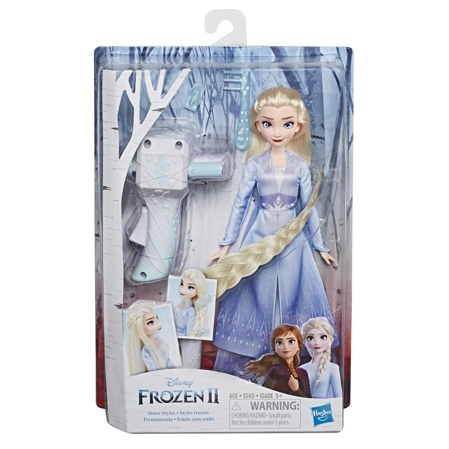 Frozen 2 Boneca Elsa Lindas Tranças - Hasbro