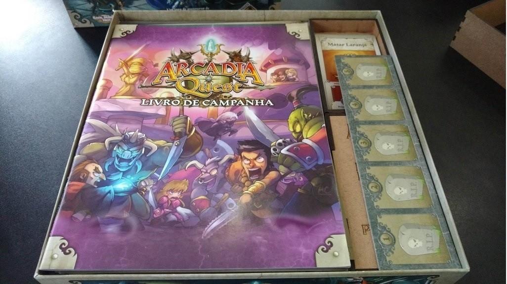 Organizador (Insert) para Arcadia Quest - Bucaneiros