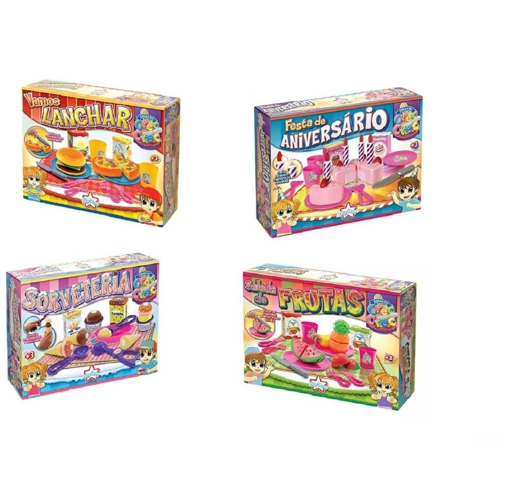Kit com 04 brinquedos Crec Crec - Big Star