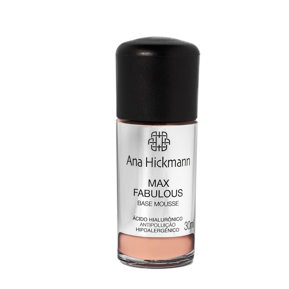 Ana Hickmann Max Fabulous Base Mousse 30ml - Cor 02