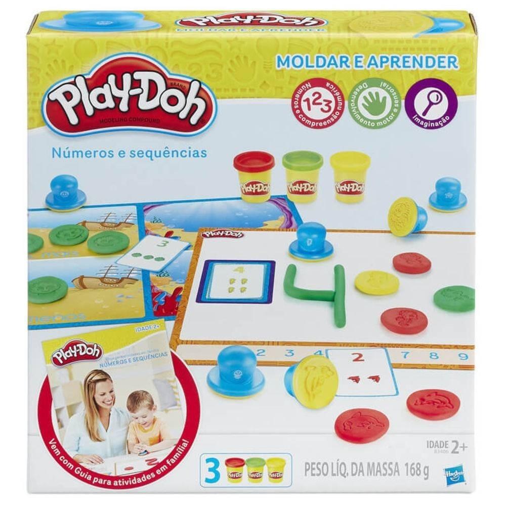Play-Doh Números e Sequências - Moldar e Aprender - Hasbro