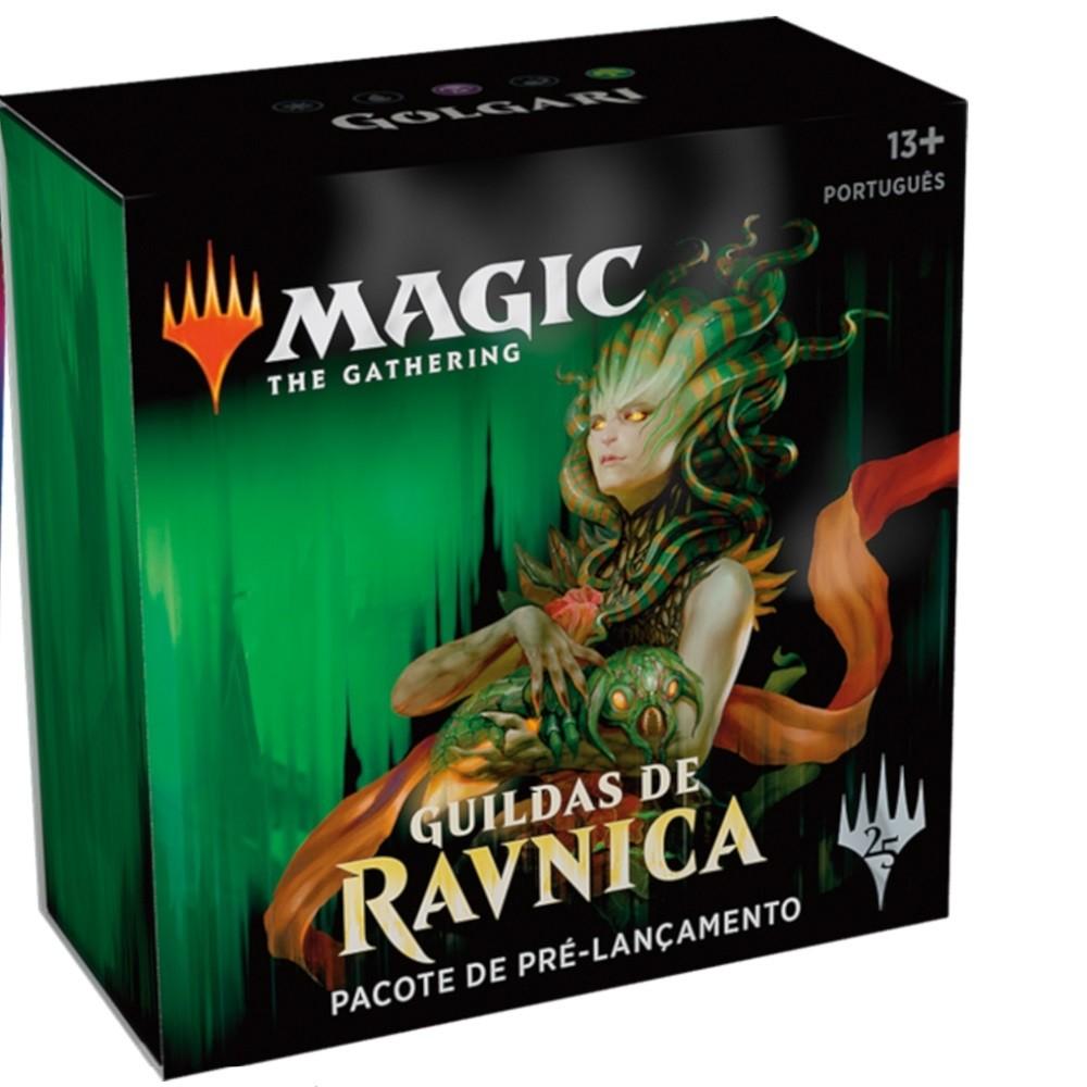 Magic The Gathering - Pré-lançamento - Guildas de Ravnica Golgari (PT) - Wizards