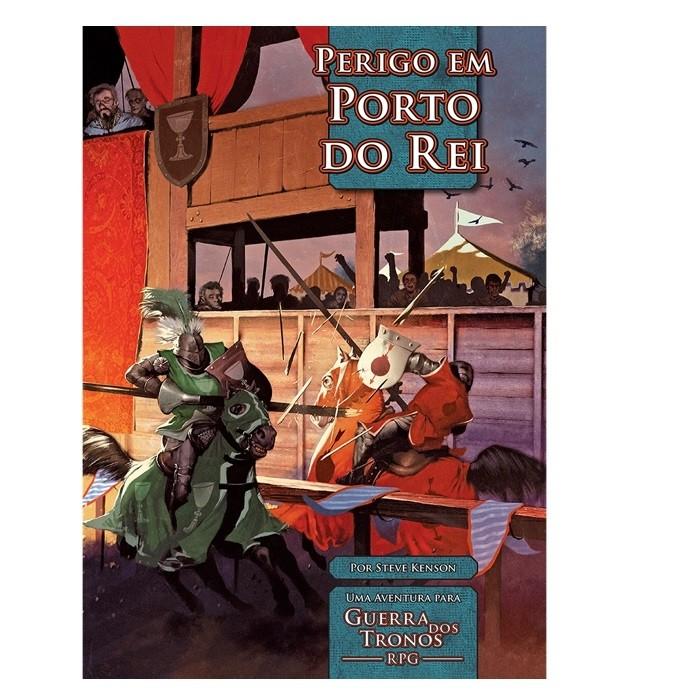 Guerra dos Tronos - Perigo em Porto do Rei - RPG - Jambô