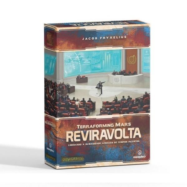 Expansão Terraforming Mars: Reviravolta - Meeple Br