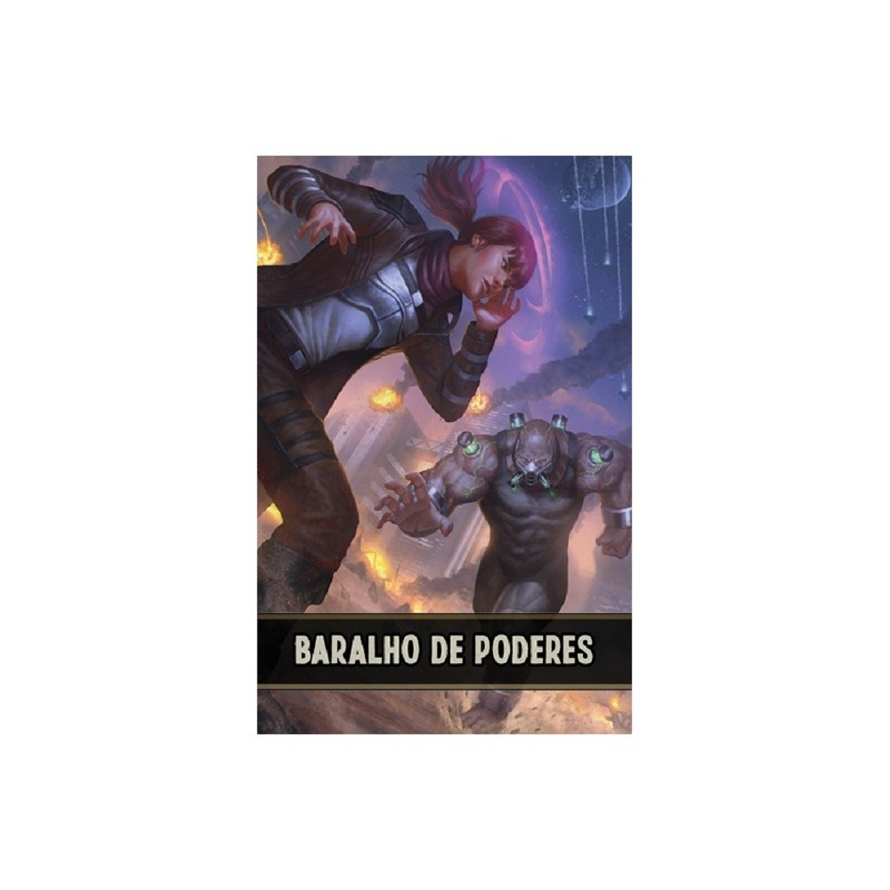 Savage Worlds - Baralho de Poderes - Retropunk