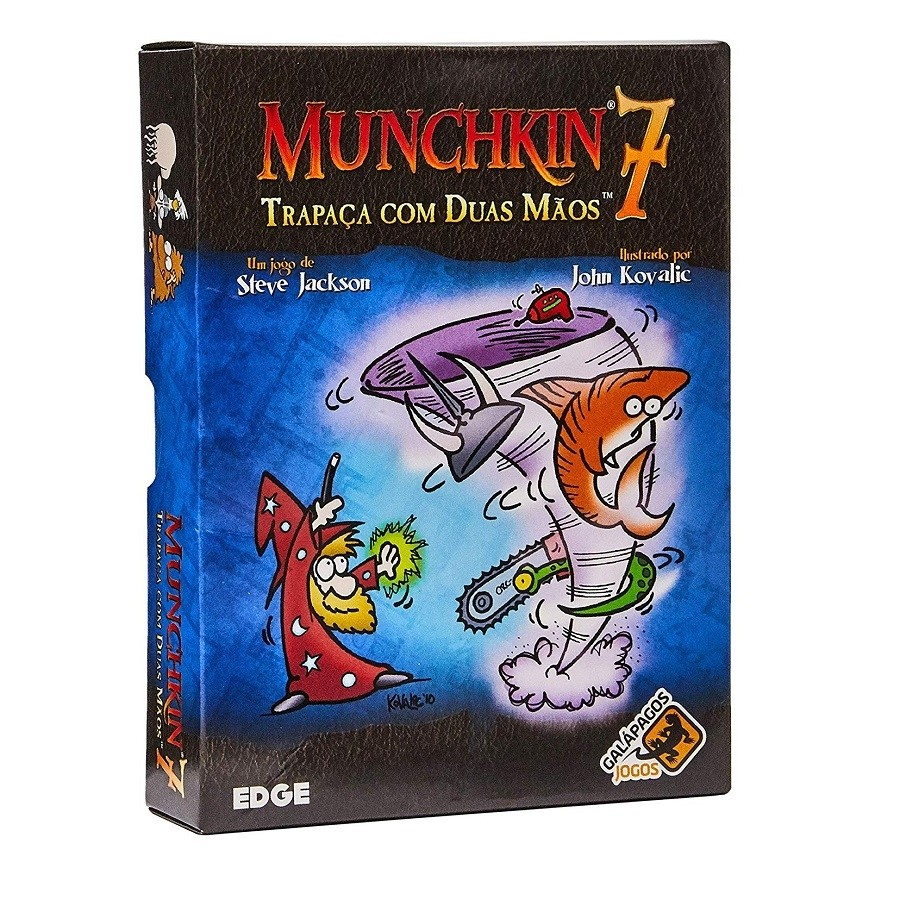 Munchkin 7 - Trapaça com duas Mãos - Expansão - Galápagos