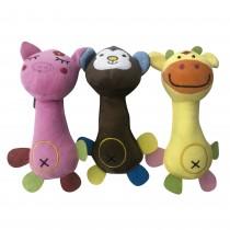 Brinquedo de Pelúcia para Cachorro - Animais Sortidos 20 cm - Sap