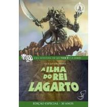 A Ilha do Rei Lagarto - Livro-Jogo Fighting Fantasy - Jambô