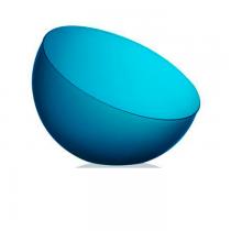Vaso Diagonal Azul- Luvidarte
