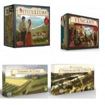 Pré-Venda Combo Viticulture+ Tuscany+ Visitantes do Vale do Reino + Visitantes do Charco - Grok