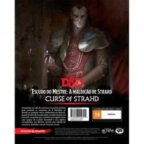 Dungeons & Dragons A Maldição de Strahd Escudo do Mestre - Galápagos