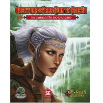 Dungeons & Dragons Aventuras para 5º Edição - Na Garganta do Dragão - Galápagos