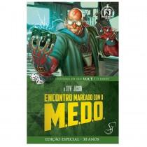 Encontro Marcado com o M.E.D.O. - Fighting Fantasy - RPG - Jambô